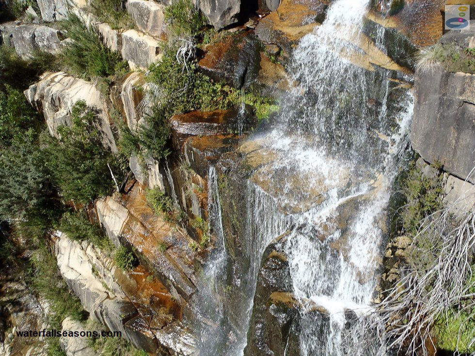 Gibraltar Falls near Canberra in the ACT