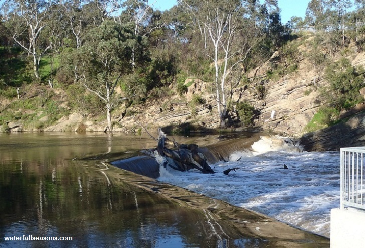 Dights Falls in Abbotsford, Melbourne
