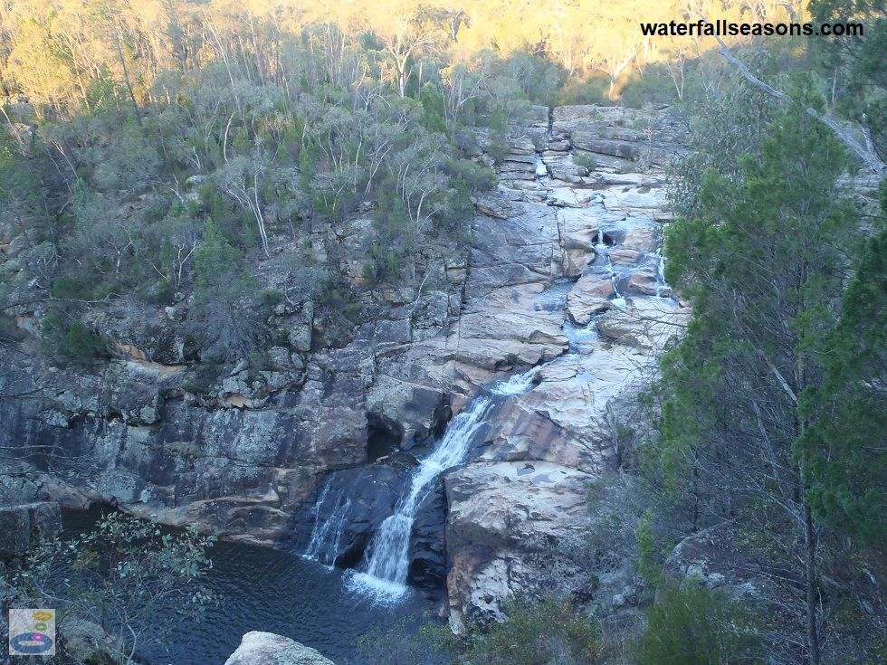 Woolshed Falls near Beechworth